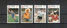 Uganda Michelnummer aus 1248 - 1255 postfrisch (6402 - Fußball - WM 1994)
