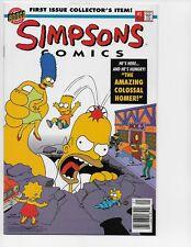 SIMPSONS COMICS 1 - NM 9.4 - FLIP BOOK - (1993)