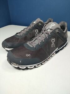 On Cloud Swiss Engineering Cloudflyer Gray Running Athletic Shoes Men's Size 11