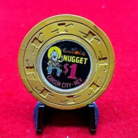 """$1""""CARSON CITY NUGGET""""SU,CR#N5405,CODE""""N""""$125-149,REAL NICE CHIP,COMBINED SHIPP"""