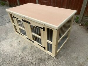 indoor double dog kennel delivery included depends on post code contact first
