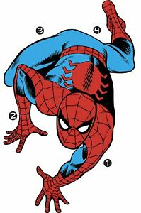RoomMates Classic Spider-Man Comic Peel & Stick Wall Decals