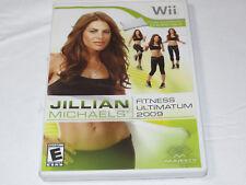 Jillian Michaels Fitness Ultimatum 2009 Nintendo Wii 2008 E-Everyone Fitness