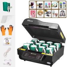3d Vacuum Sublimation Heat Press Machine Kit For Phone Case Mug Cups Printing Us