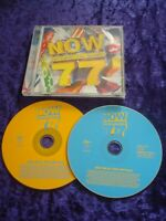 CD.NOW THAT'S WHAT I CALL MUSIC VOLUME 77.2 CD SET.44 TRACKS.POP MUSIC.VIRGIN