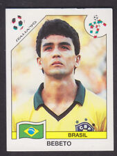 Panini - Italia 90 World Cup - # 206 Bebeto - Brasil