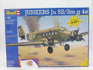 "Revell 04519 # Bausatz: Junkers Ju 52/3m G 4e Flugzeug "" ungebaut "" 1:48 ab 1,-"