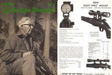 Williams 1970 Gun Scopes and Sights Catalog