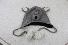 WOOLY HAT BEANIE WOOLEN WINTER CHRISTMAS FACE ANIMAL