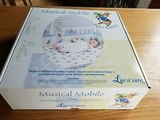 Adorable New Luv N' Care Beatrix Potter Peter Rabbit Baby Crib Musical Mobile