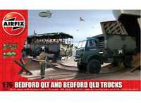 Airfix 1/76 03306 Bedford QLT and Bedford QLD Trucks - Model Kits