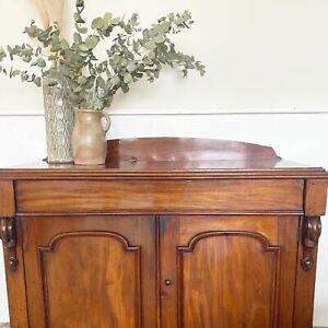 Antique carved sideboard/cupboard