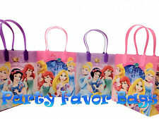 12 pcs Disney Princess Party Favor Bags Cinderella Candy Treat Birthday Gift Bag