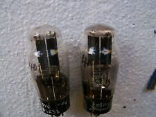 GZ32 / 5V4 Mullard BVA  rectifier tubes , used ,Tested