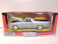 1970 Chevy El Camino SS Wagon Die-cast Car 1:24 New Ray City Cruizer 8 inch Blue