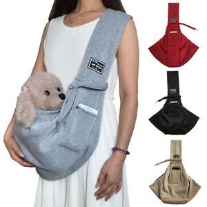 Pet Dog Cat Puppy Carrier Shoulder Pouch Travel Outdoor Carry Bag Sling Backpack