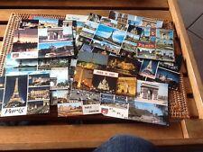 rare lot 20 cpa PARIS annees 70 TOUR EIFFEL MULTIVUES port compris carte postale