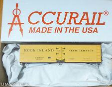 Accurail HO #4844 Rock Island (40' Wood Reefer) Plastic Kit