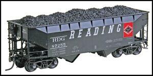 Kadee ~ HO scale #7523 ~ Reading 50 Ton AAR 2 Bay Open Hopper ~ New