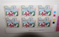 """FRANCOBOLLI CIPRO  CYPRUS 1987 """"EVENTS"""" NUOVO MNH** BLOCK OF 6 (CAT.6)"""