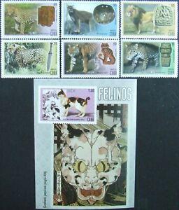 Caribbean Wild Cats-set and S/Sh.2007,MNH.CU 40/L