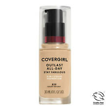 Covergirl Outlast All-Day Stay Fabulous Foundation, 820 Creamy Natural Exp FE/20
