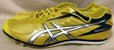 Asics Hyper LD 5 Track Athletic Shoe - Hyper Yellow Size 12.5 - No Spikes G404Y
