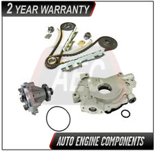 Timing Chain Kit + Oil & Water Pump Fits Ford Town Car Grand Marquis 4.6L