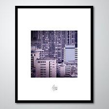 """Photographie d'art (+cadre 30x24 cm) - """"QUARTIER GRENELLE"""" (Immeubles Paris)"""