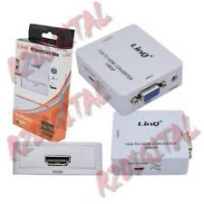CONVERTITORE DA VGA A HDMI HDV-610 VIDEO DIGITALE ANALOGICO con ALIMENTAZIONE