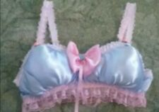 CD ADULT BABY SISSY BLUE AND PINK FILLED BRA