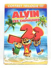Coffret 3 DVD Alvin et les Chipmunks 1 + 2 + 3 / La Trilogie