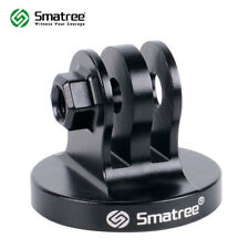 Smatree Aluminum Tripod Mount Adapter for GoPro Session/Hero Fusion,7,6,5,4,3+