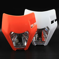 Headlight Mask Assembly For KTM EXC EXC-F/SIX-DAYS 125 200 250 300 350 450 500