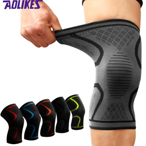 Knee Support  Brace Knee pad Gym Weight lifting Knee Wraps Bandage Straps Guard