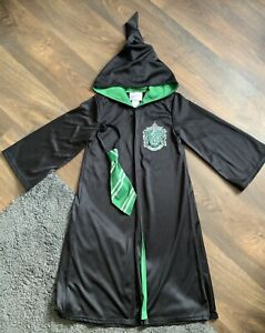 Matalan Harry Potter Slytherin Costume & Tie Age 5-6 Years Worn Once