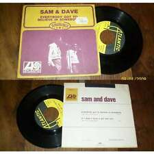 SAM & DAVE - Everybody Got To Believe In Somebody French PS 7' Soul 1968
