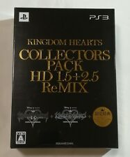 PS3 KINGDOM HEARTS Collector's Pack HD 1.5 2.5 remix KH Limited Edition JAPAN