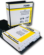 Ford 420 445 445A Industrial Tractor Service Repair Manual Technical Shop Book