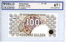 Netherlands ... P-101 ... 100 Gulden ... 1992 ... *Superb Gem UNC*