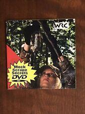 Mock Scrape Secrets (Dvd) Hunting Deer Bucks Urine Instructional Guide Video Wrc