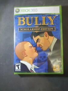 Bully -- Scholarship Edition (Microsoft Xbox 360, 2008). Sealed.