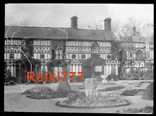 More details for old vintage glass negative the house of the maids of llangollen north wales
