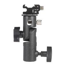 E-Type Flash Bracket/Umbrella Holder+Adjustable Hot Shoe Mount for Camera Tripod