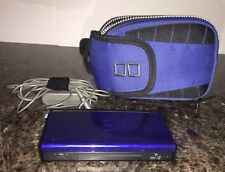 Nintendo DS Lite Cobalt Blue Console w Charger, Case, Games And Stylus