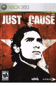 Just Cause Xbox 360 game disc only 9z 1 Xbox one/series x compatible