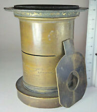 Dallmeyer Rapid Rectilinear 12x10 Antique Brass Lens for Large Format Camera
