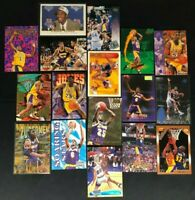 Eddie Jones-LA Lakers-17 Cards-1994 Topps RC/NBA Hoops/Skybox/Fleer Upper Deck