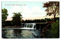 Early 1900s Oconomowoc Falls, Oconomowoc, WI Postcard