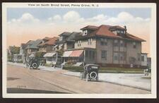 Postcard PENNS GROVE New Jersey/NJ  South Broad Street Houses/Homes view 1910's